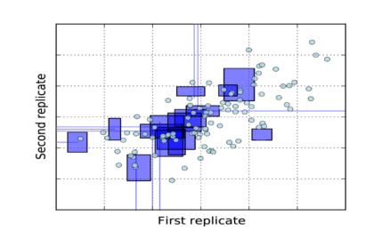 Likelihood based correlation analysis for censored data